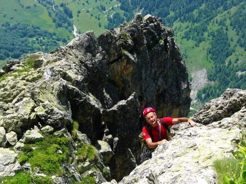 Croce Provenzale - Along Normal Route