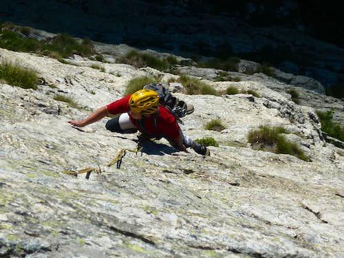 Gaia Route slabs, Croce Provenzale