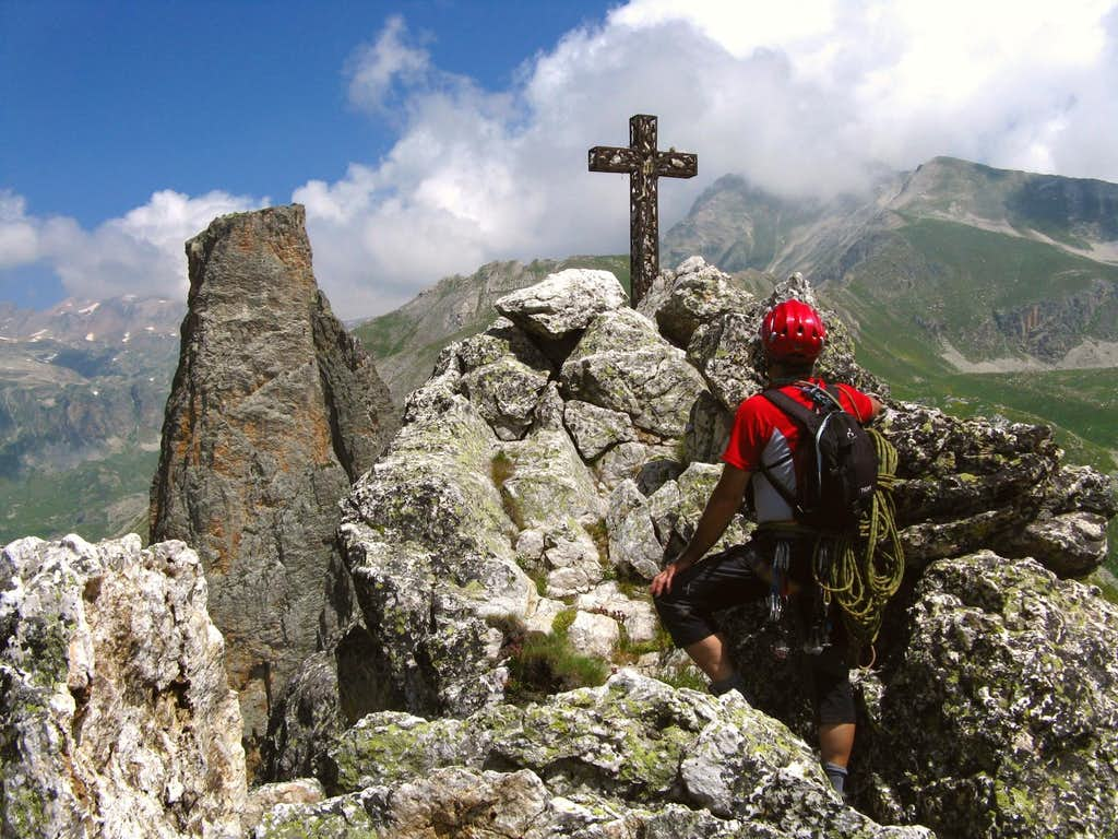 Croce Provenzale - Getting to the top