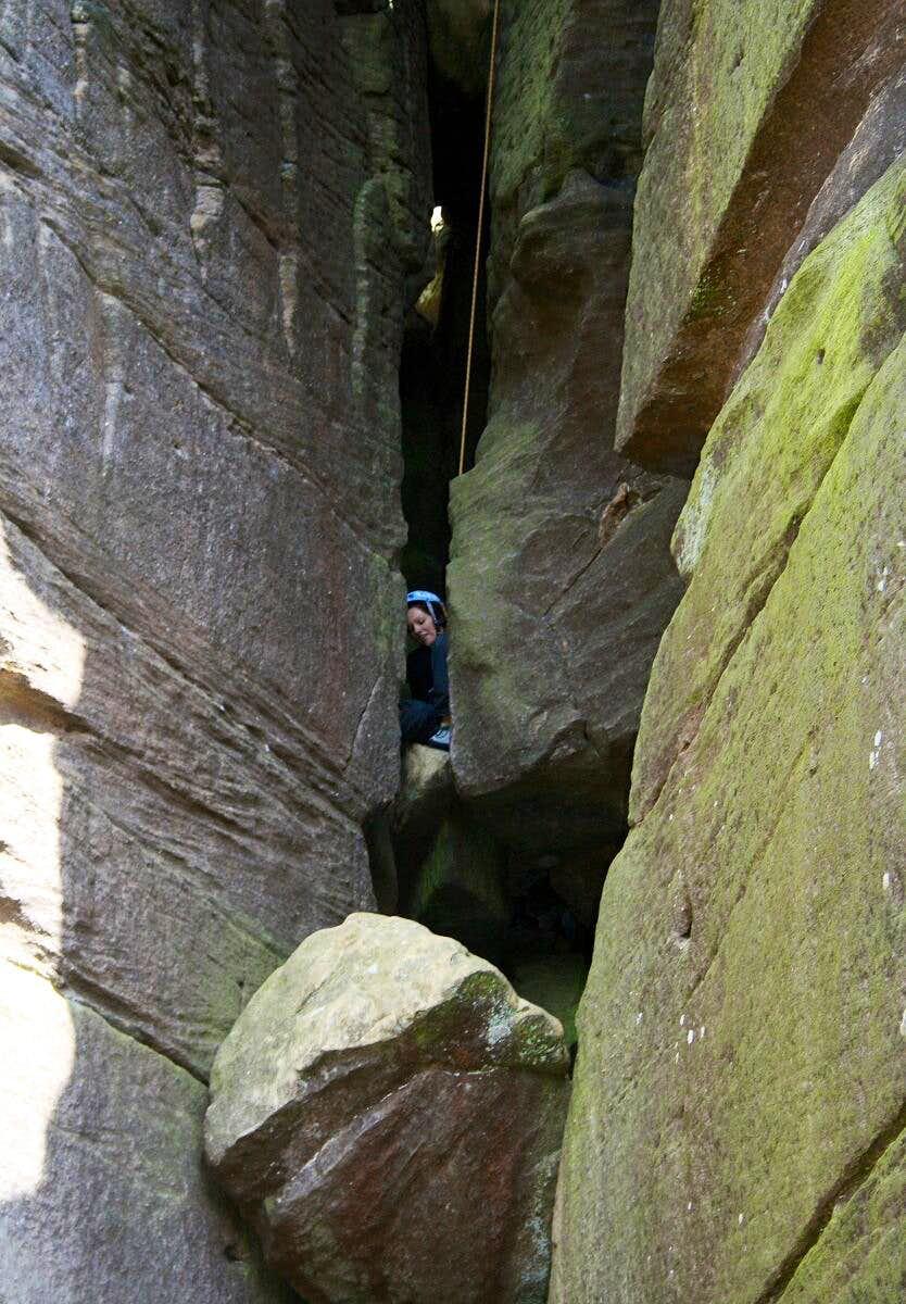 Lovers Leap Brimham Rocks