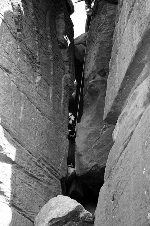 Lovers Leap Brimham Rocks