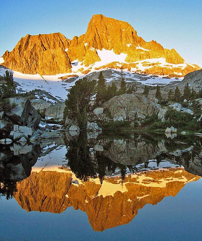 Morning Reflection on Banner Peak
