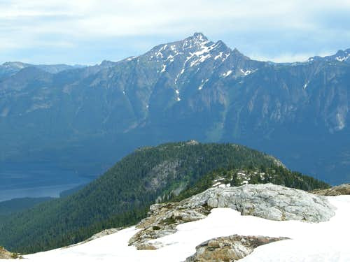 Jack Mountain above Ross Lake