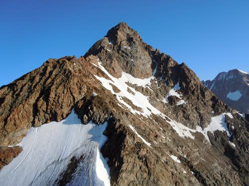 The ridge from Petite A.lle des Glaciers