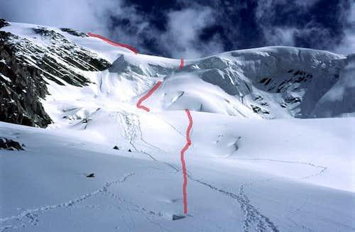 Nornal Glacier Route to...