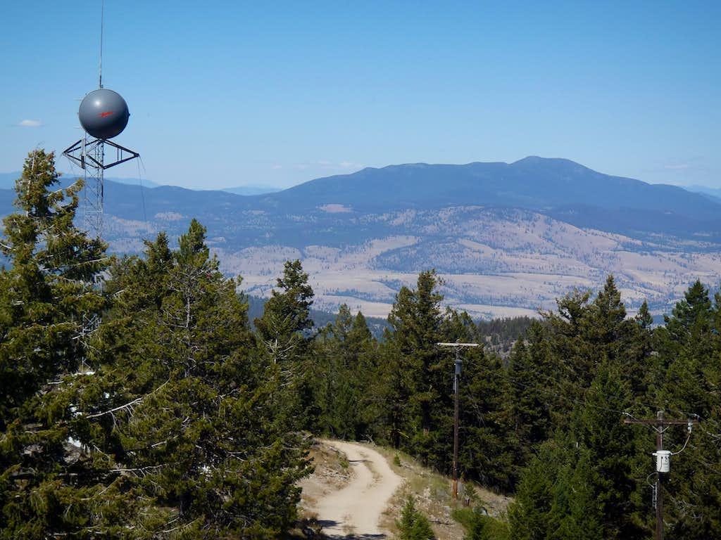 Tunk Mountain - North View