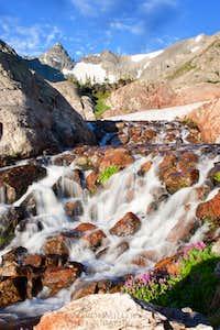 Falls Along the Isabelle Glacier Trail