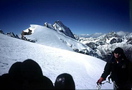 Zilantou on Banji summit dome...