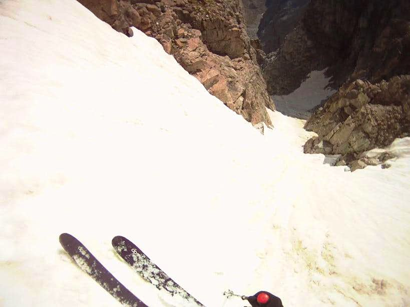 Bighorn Couloir, August 18 2011