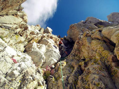 Crystal Crag - North Arete - Crystal Pitch