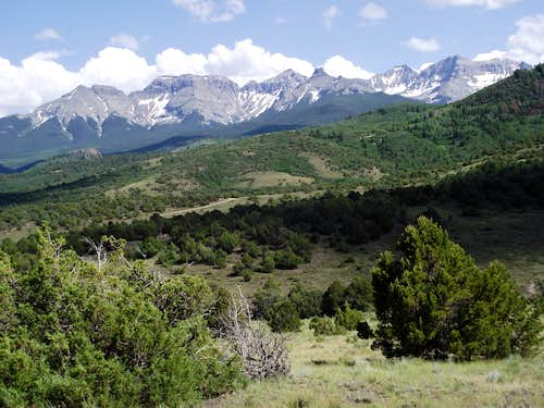 Eastern Portion of the Sneffels Range