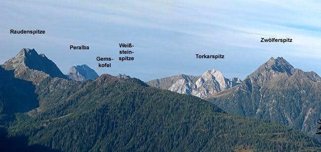 Carnic Alps Main Ridge (West) photo_id=113602