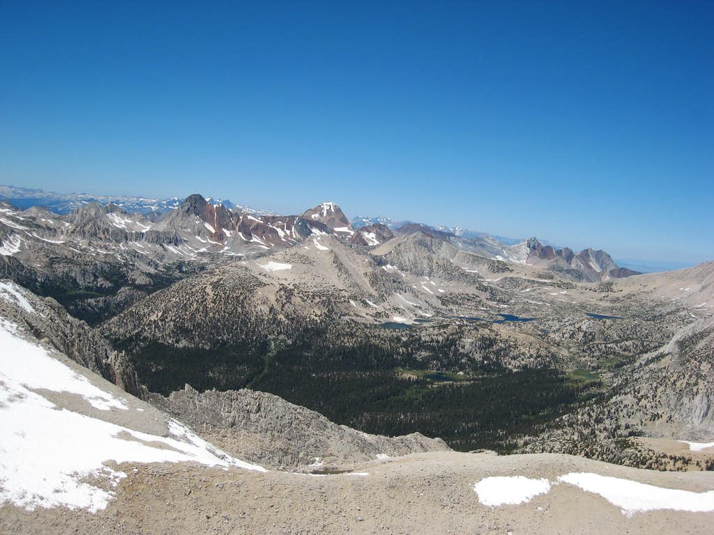 View from Mt Starr