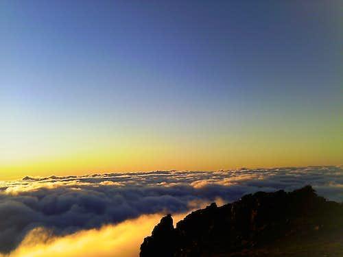 Sunset on Mount Fremont