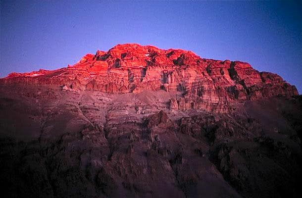 Aconcagua west face