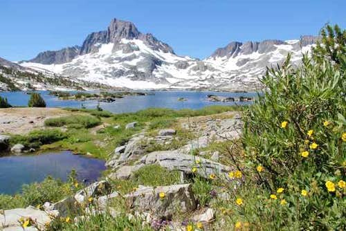 Banner Peak at Thousand Island Lake