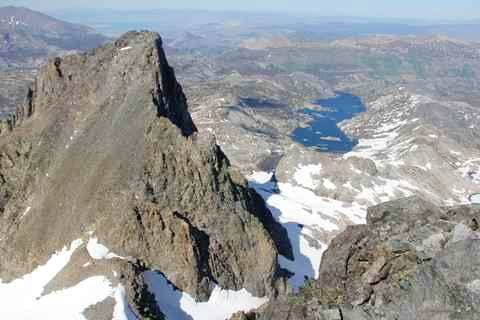 Banner Peak and Garnet Lake