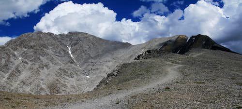 Mt Borah - Southwest (Chicken-Out) Ridge