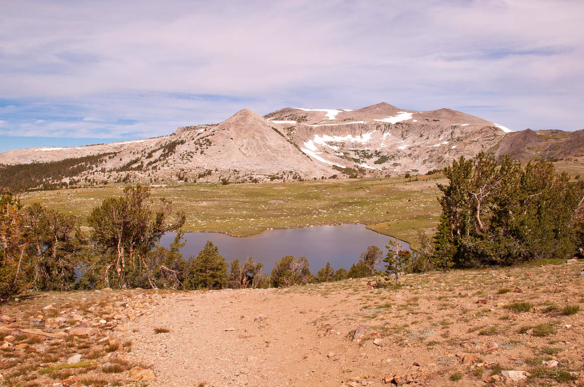 Gaylor Lakes and Great Sierra Mine