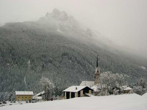Cima Dodici and the church of...