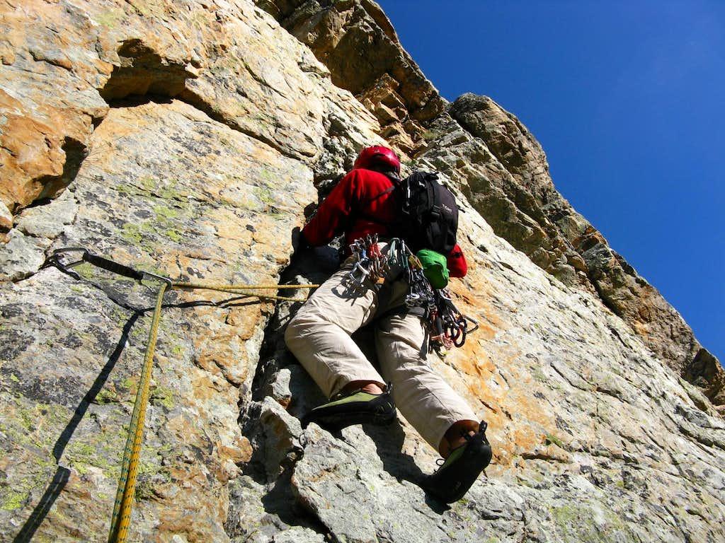 Balzola Route - Starting crack