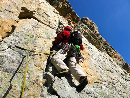 Balzola Route - Starting crack