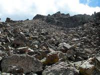 Spread Eagle Peak, North Ridge