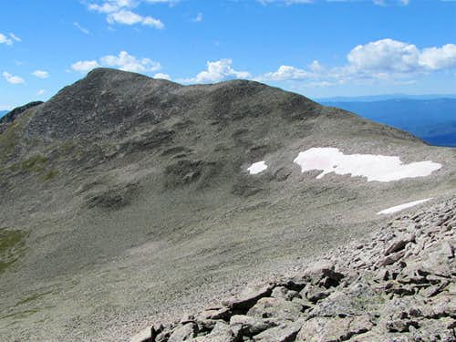 Summit of Monumental Peak