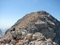 Summit of Civetta (3,220m)