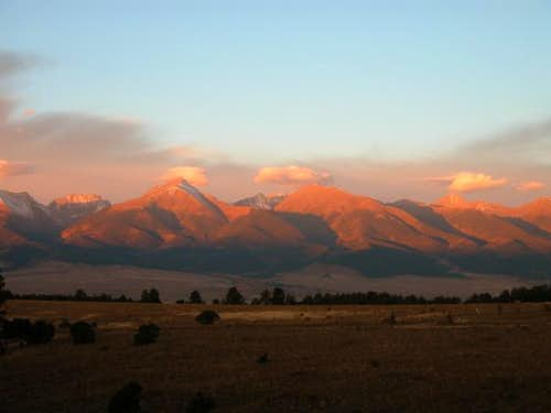 A beautiful sunrise on Oct....