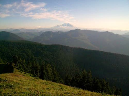 Mount Rainer from Bearscout