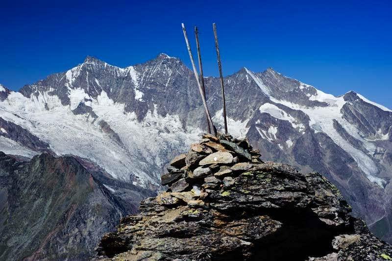 Almagellerhorn Summit