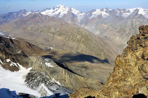 View from Kreuzspitze