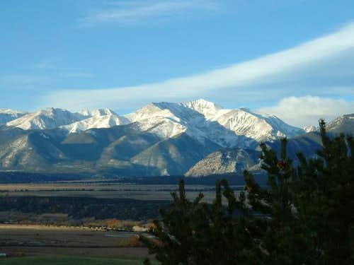 10/14/04: Mount Antero, from...