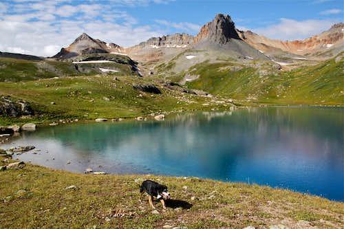 Fuller Peak, Vermilion and Golden Horn
