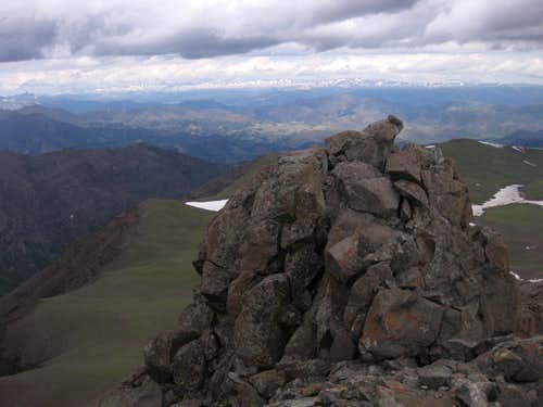 Dead Indian Peak-- Summit