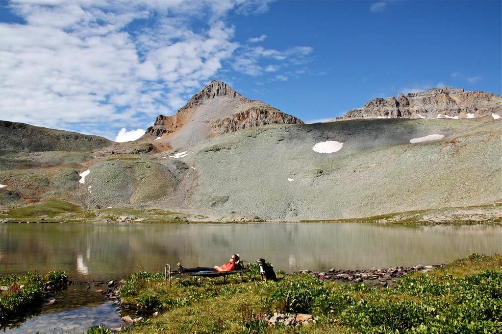 Fuller Peak and Lake