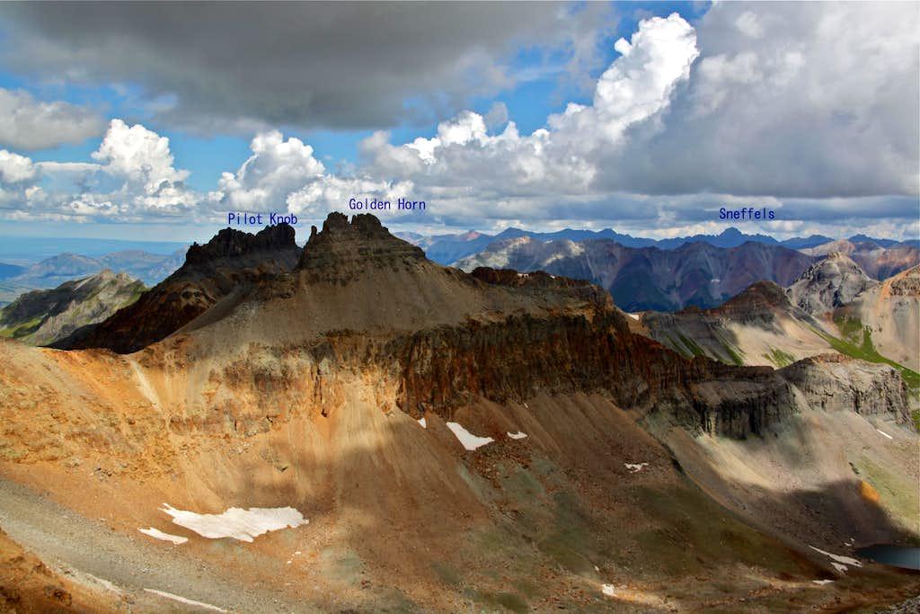 Fuller Peak Summit view