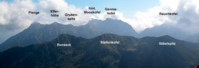 Carnic Alps Main Ridge (West) photo_id=113753