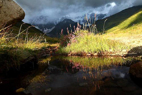 Svanetian landscapes