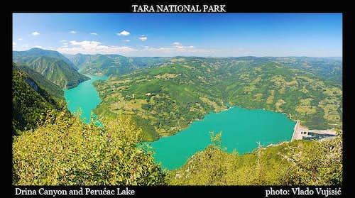 Drina Canyon and Perućac Lake