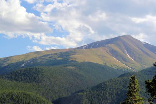 North Elbert Trail Ridge