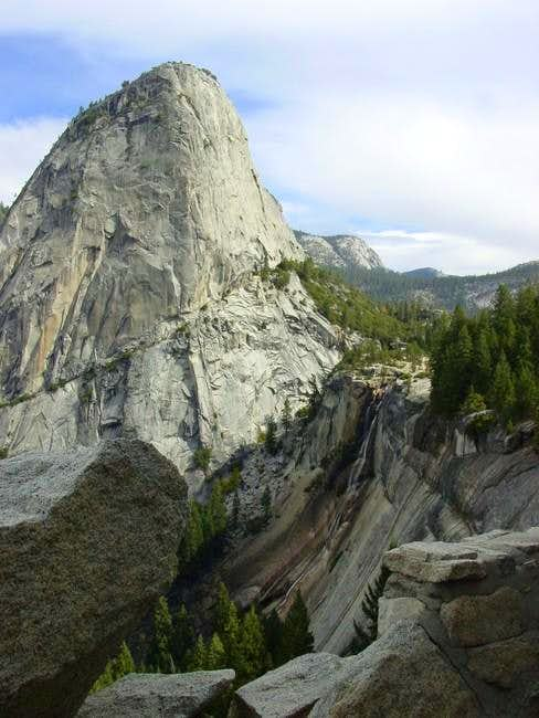 with Nevada Falls. From thr...