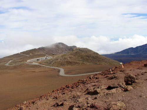 Haleakala lookout