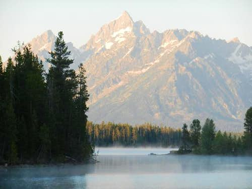 Sunrise - Colter Bay - Jackson Lake