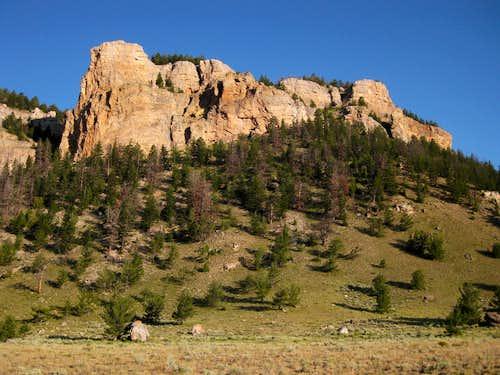 Cliffs near Dewey's Gate