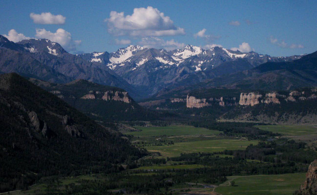 Sunlight Basin Wyoming Map.White Mountain Climbing Hiking Mountaineering Summitpost