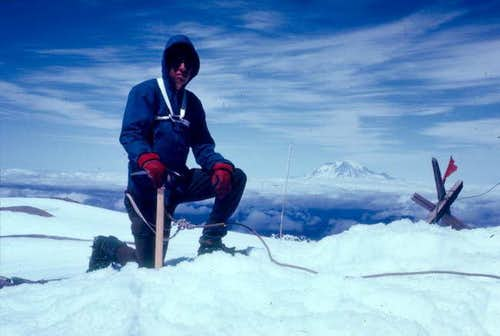 Me on the summit of St.Helens...