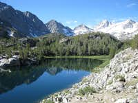 Box Lake in Little Lakes Valley