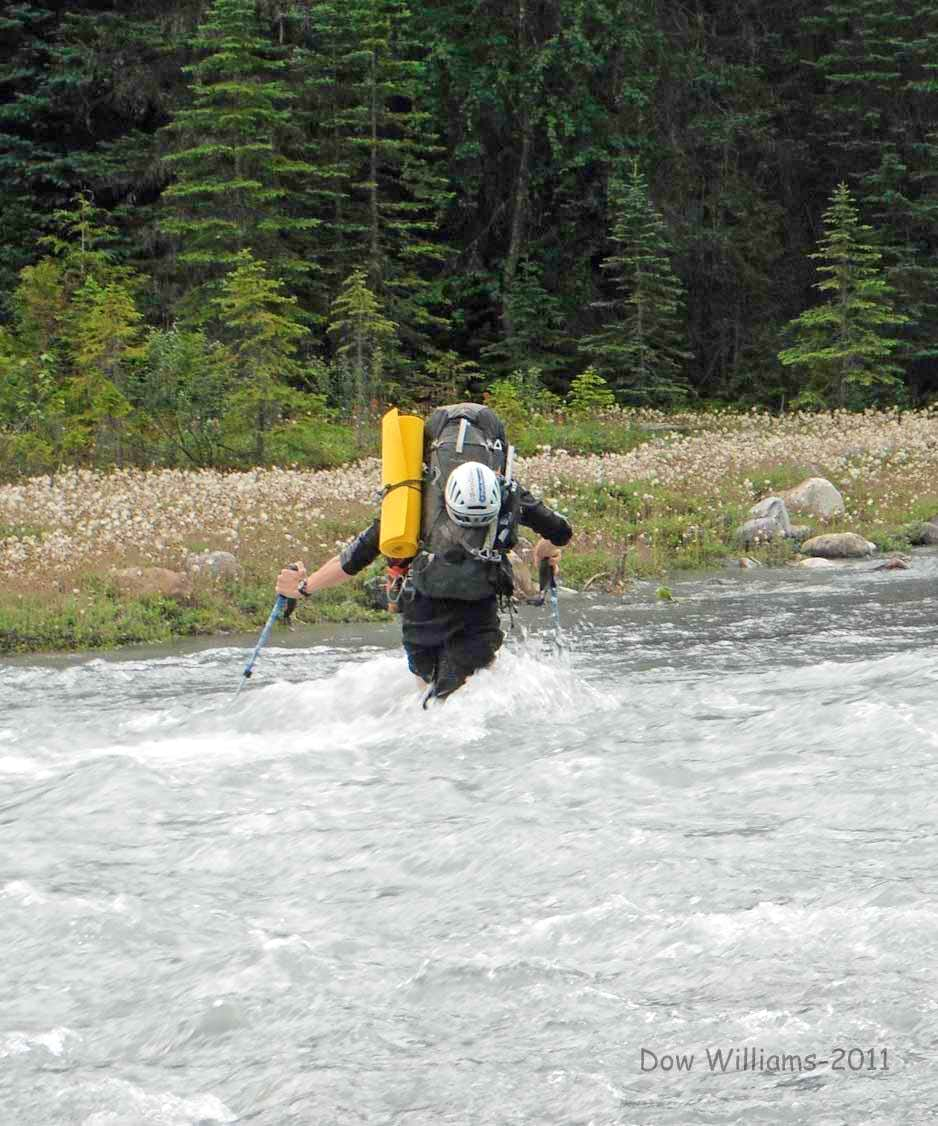Wild river crossing